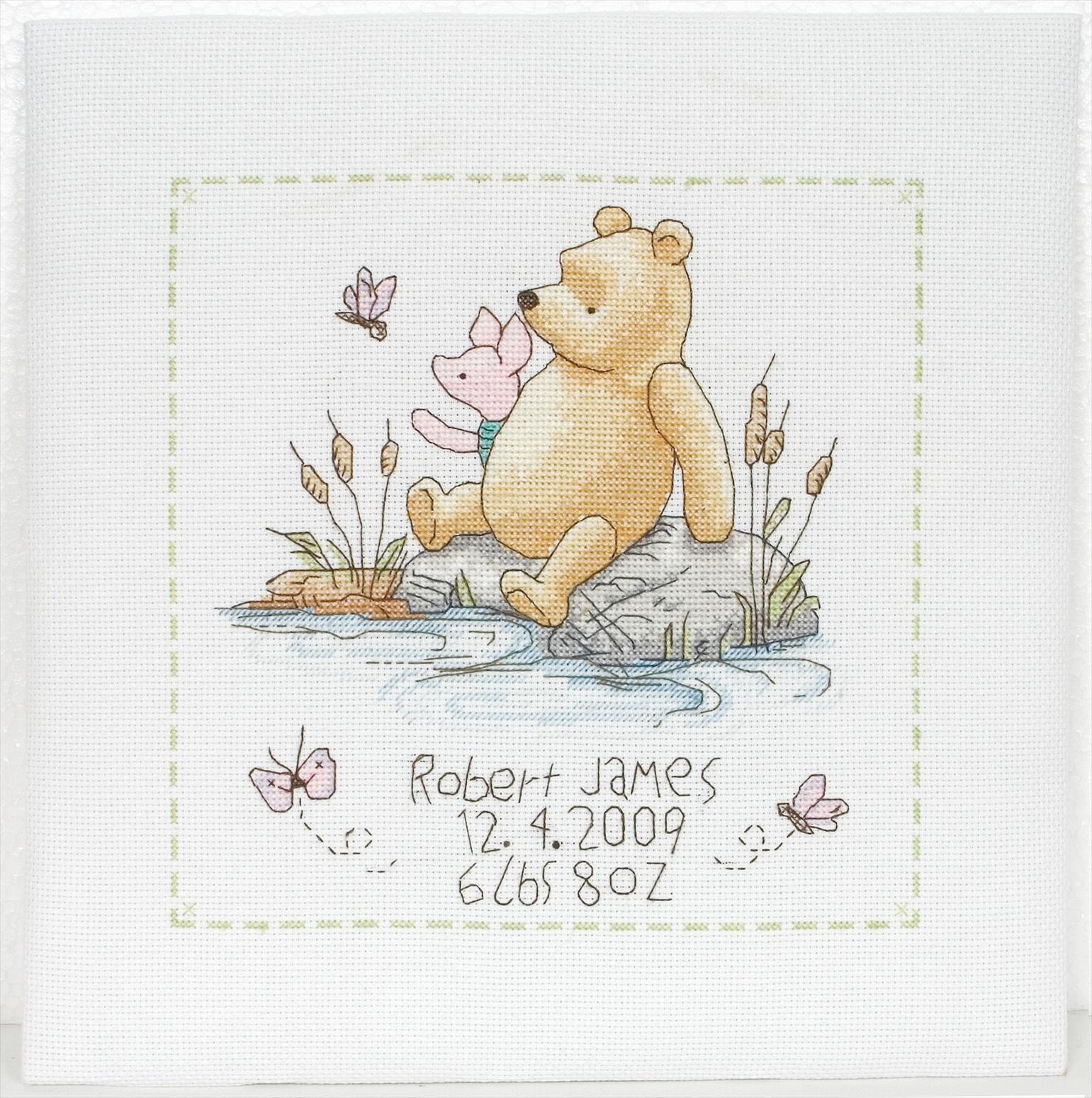 Classic Pooh Cross Stitch Kits