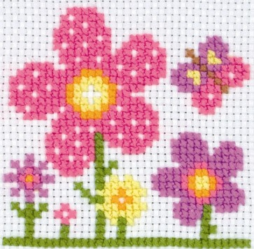 Anchor Cross Stitch Kit - Childrens Cross Stitch Kits - Sarah