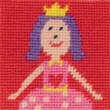 Anchor Tapestry Kit - Childrens Tapestry Kits - Ruby