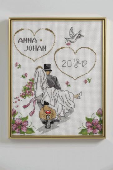 Anna And Johan Wedding Sampler - 9240000-02311