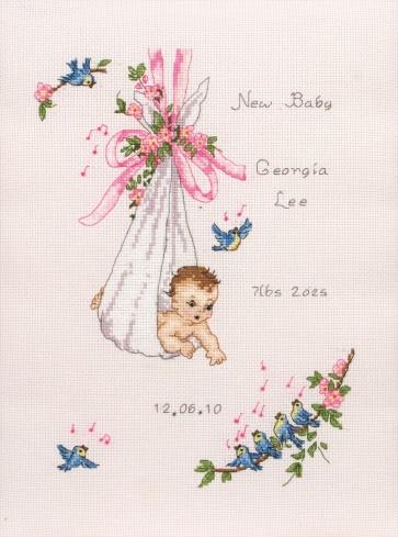 Vintage Baby Sampler - ACS10