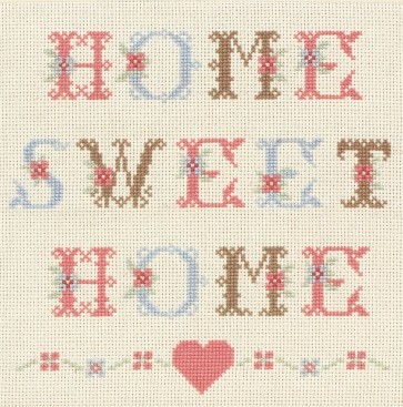Anchor Cross Stitch Kit - Celebration Kits - Home Sweet Home