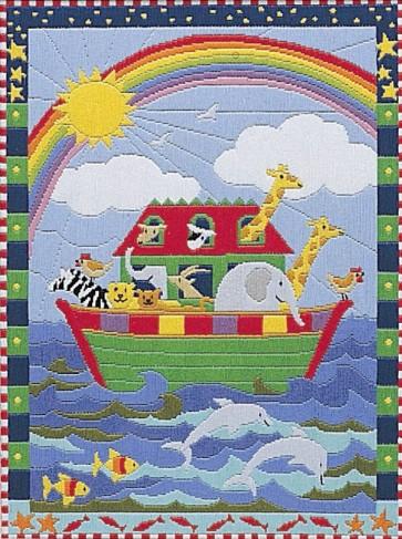 Anchor Long Stitch Kit - Noahs Ark