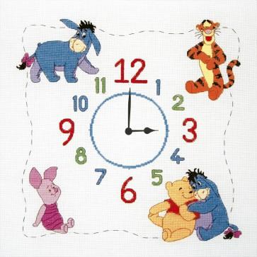 Winnie The Pooh Clock - DPPF016