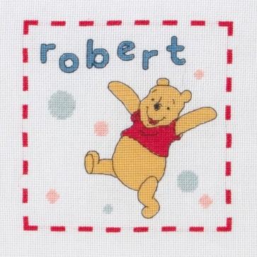 Pooh Name Sampler - DPPF019