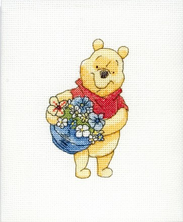 Pooh With Basket - DPPT111