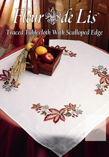 Anchor Embroidery Kit - Autumn Tablecloth