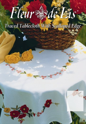 Poppies Tablecloth - ETW11