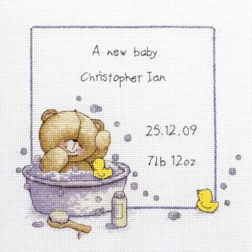 Bath Time Birth Sampler - FRC96