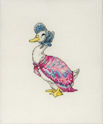 Anchor Cross Stitch Kit - Beatrix Potter Kits - Jemima Puddle-duck