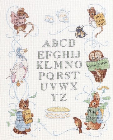 Peter Rabbit Centenary Sampler - JC211