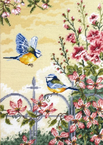 Anchor Tapestry Kit - Floral Railings