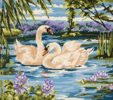 Anchor Tapestry Kit - Swans