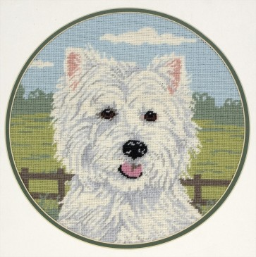 Anchor Tapestry Kit - West Highland Terrier