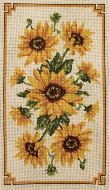 Anchor Tapestry Kit - Sunflower Panel