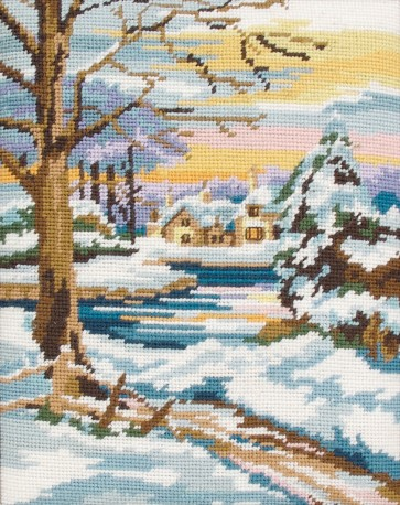 Anchor Tapestry Kit - Winter Scene