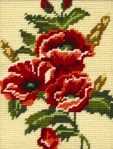 Anchor Tapestry Kit - Poppy