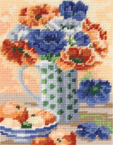 Anchor Tapestry Kit - Anemones