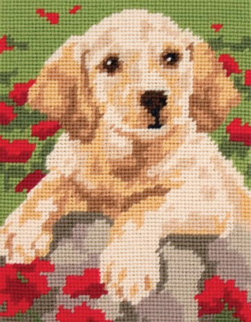 Anchor Tapestry Kit - Labrador Puppy