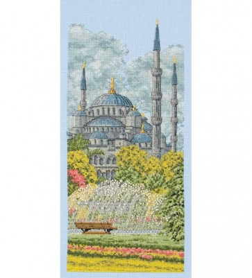 Anchor Cross Stitch Kit - Landscape Kits - The Blue Mosque