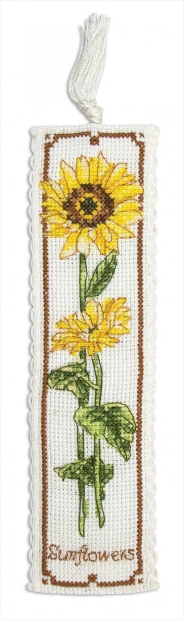 Sunflower Bookmark - PCE5000