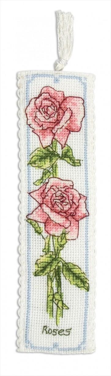 Rose Bookmark - PCE5003