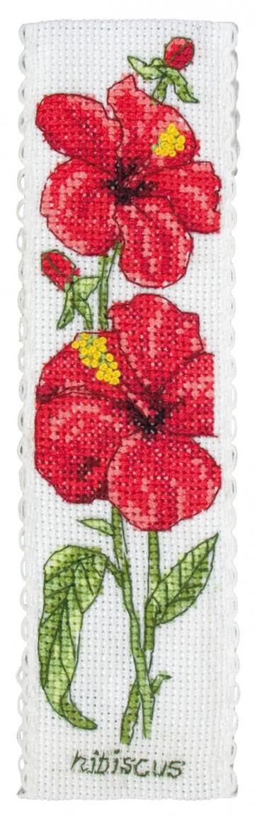 Hibiscus Bookmark - PCE5005