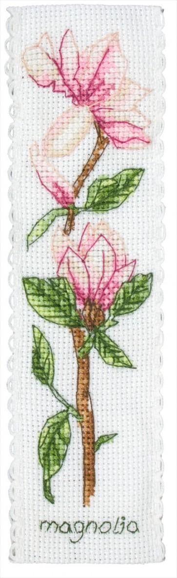 Magnolia Bookmark - PCE5006