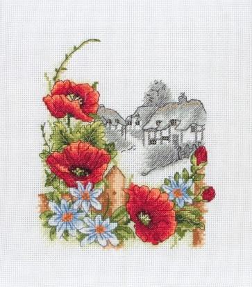 Anchor Cross Stitch Kit - Floral Kits - Summer Days