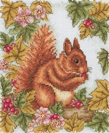 Autumn Squirrel - PCE595
