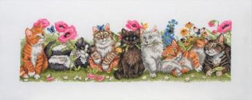Kittens In A Row - PCE729