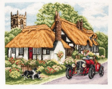 Anchor Cross Stitch Kit - Trains, Cars and Boats Kits - Village Of Welford
