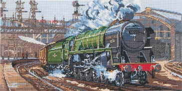 Anchor Cross Stitch Kit - Trains, Cars and Boats Kits - Evening Star