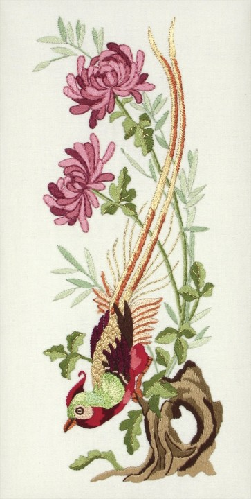 Anchor Embroidery Kit - Vintage Chrysanthemum