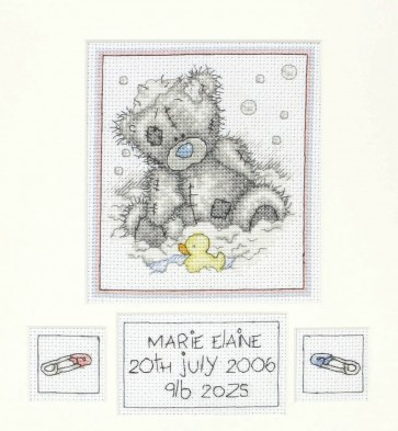 Bath Time Birth Sampler - TT112