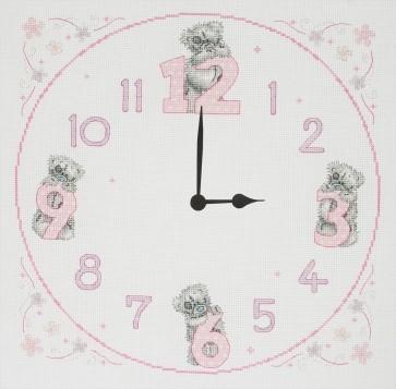 Tatty Teddy Clock - TT215