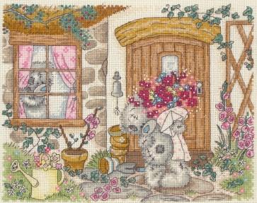 Cottage Scene - TT216