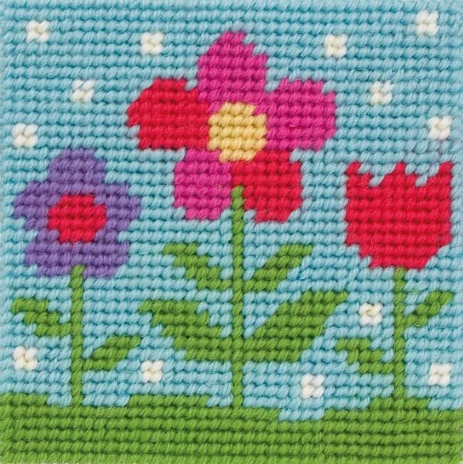 Anchor Tapestry Kit Childrens Tapestry Kits Flora