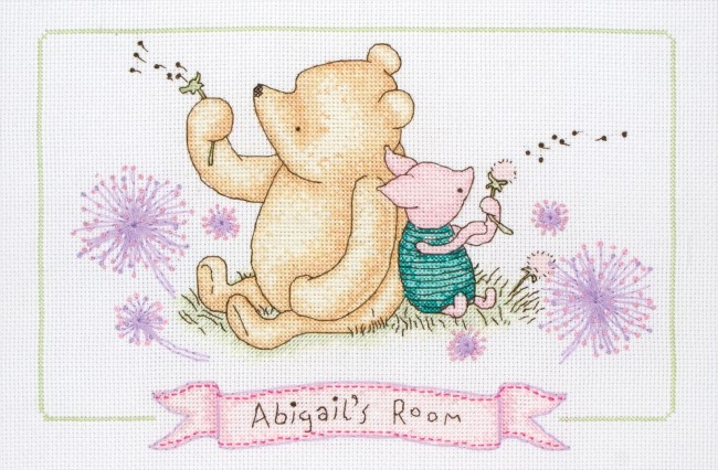 Anchor Cross Stitch Kit Disney Classic Pooh Kits Pooh