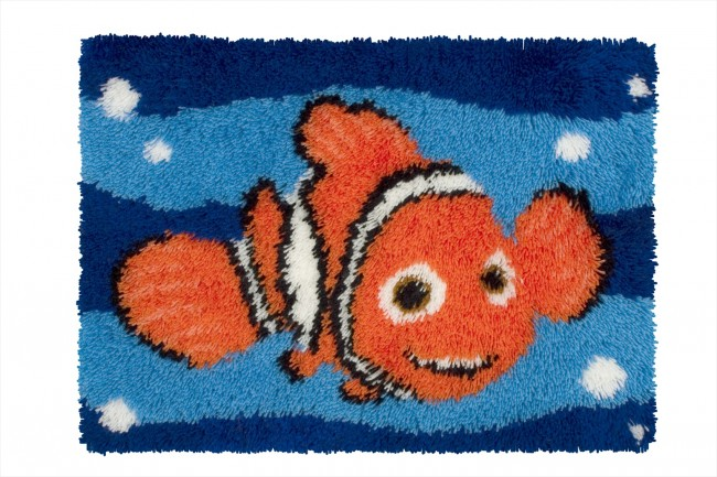 Anchor Latch Hook Rug Kit Nemo Rug