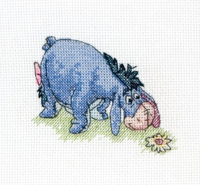 Anchor Cross Stitch Kit Winnie The Pooh Kits Eeyore