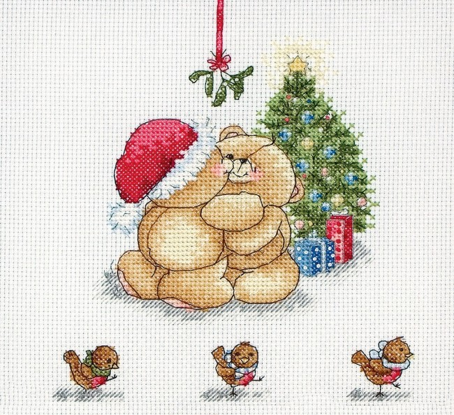 Anchor Cross Stitch Kit Forever Friends Kits Under The