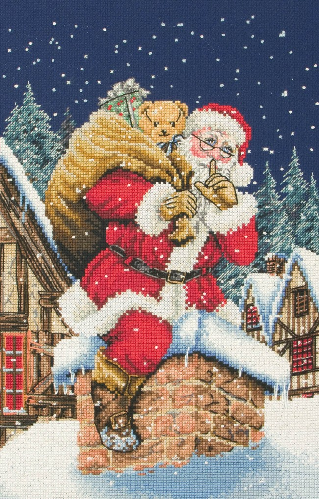 Anchor Cross Stitch Kit Christmas Kits Father