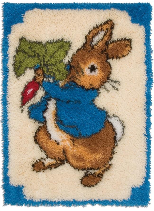 Anchor Latch Hook Rug Kit Peter Rabbit Rug