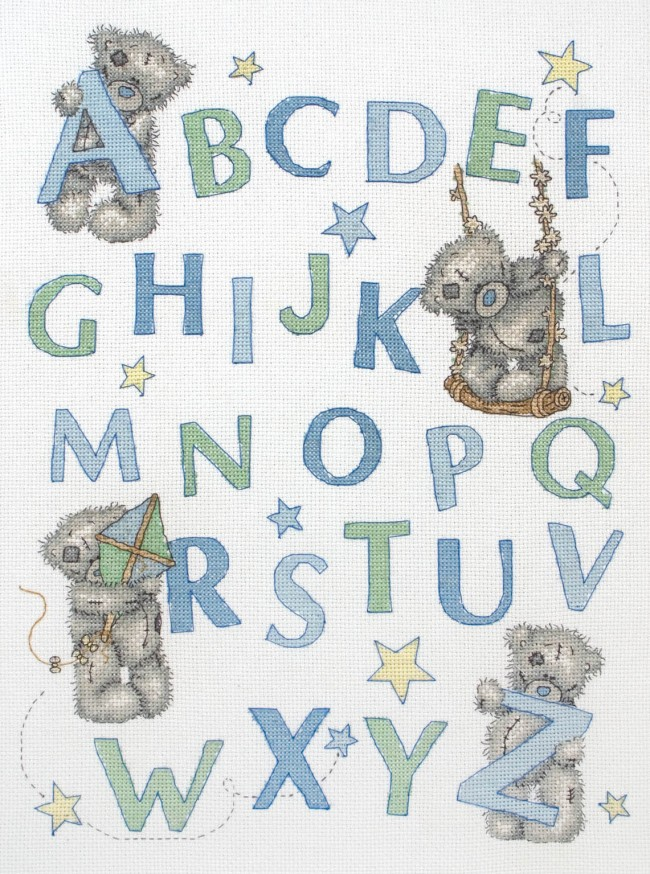 Anchor Cross Stitch Kit Tatty Teddy Kits Learn The